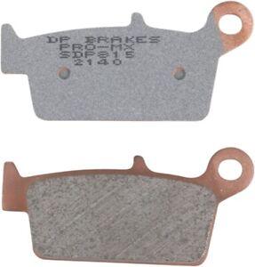 DP Brakes SDP815 Pro MX High-Performance Brake Pads
