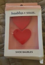 New Baubles + Soles ❤ Queen of Hearts Kaia Shoe Accessory Valentines Girls women