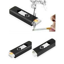 No Gas USB Electronic Rechargeable Battery Flameless Cigarette Lighter G0