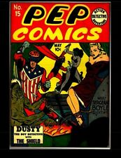 Pep Comics #15: Golden Age Superhero Comic