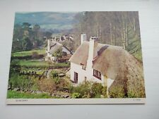POSTCARD COTTAGES SELWORTHY SOMERSET UNPOSTED