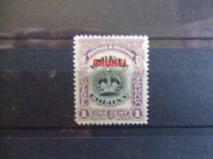 Brunei 1906 1c mint SG11