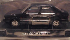 DeAgostini DK77 -Fiat Croma 1985 Blue 1/43rd Scale New on Plynth Tracked48 Post