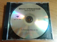 Bruce Springsteen American Skin (41 Shots) Studio Version Ultra Rara Promo Cd