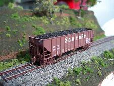 Realistic Coal Loads for Micro-Trains 100 Ton 3-Bay Hopper, N Scale