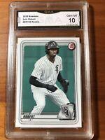 2020 Bowman Luis Robert Rookie Card #BP-150 Chicago White Sox GMA 10