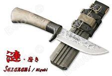 "KANETSUNE Sazanami Migaki SRK-8 High Carbon Steel, 10.25"", WithSheath KB-248 NEW"