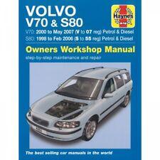 Volvo S80 V70 1998-2007 Benzin Diesel Limousine Kombi Reparaturanleitung Haynes