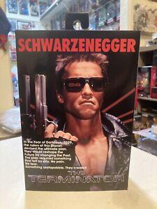 Neca Reel Toys The Terminator Tech Noir 7in Figure NEW