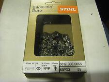 New original Stihl Oilomatic Duro chain 3/8 picco 16 inch 55 links 1.3 mm