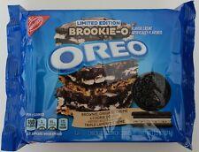 NEW Nabisco Oreo BROOKIE-O Flavor Creme Sandwich Cookies FREE WORLD SHIPPING