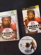 Fight Night 2004 Original Microsoft XBox Game Complete.