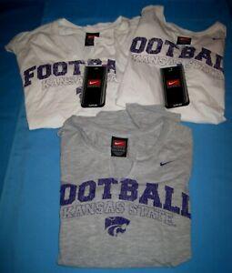 Lot 3 Nike K State KSU Wildcats Women's/Girls Sleeveless T Shirts New W/Tags!
