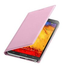 Original Samsung Leather Flip Case Galaxy NOTE 3 SM N9005 cell smart phone cover