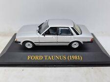 Ixo Ford Taunus 1981. Silver. 1:43