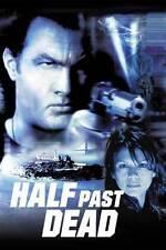 HALF PAST DEAD Movie POSTER 27x40 C Steven Seagal Morris Chestnut Ja Rule Nia