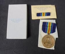 Genuine WWI 28th Division Pennsylvania National Guard US Victory Medal with Pin