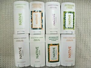 NATIVE DEODORANT~U PICK TYPE & FROM 73 SCENTS~VARIOUS SIZES 0.35 - 3 OZ