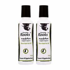 Greenish Roots Black Seed Hair Oil Twin Pack (100ml x 2)
