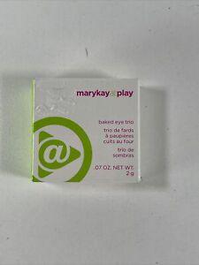 Mary Kay At Play Baked Eye Trio - Sunset Beach NIB FREE SHIPPING