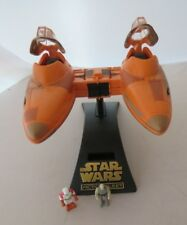 Star Wars Micro Machines Action Fleet Cloud Car W Base Loose Complete