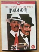 Harlem Nights DVD 1989 Crime Gangster Comedy w/ Eddie Murphy and Richard Pryor