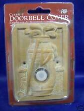 Ceramic Doorbell cover Golf Theme