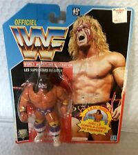 Vintage - 1991 WWF Hasboro Wrestling Figure French ULTIMATE WARRIOR - Brand NEW