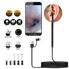 Digital Led Otoscope Ear Camera Scope Earwax Removal Ear Wax Cleaning Tools Jpeg