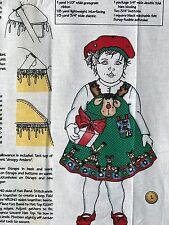 Cotton Fabric Christmas Daisy Kingdom Rudi Toddler Jumper & Hat S,M,L