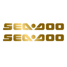 Set of 2 Vinyl Decals for Sea Doo Boat, bumper sticker. Mail with tracking #