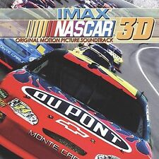 New: : IMAX NASCAR 3D Soundtrack Audio CD