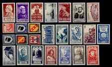 L'ANNÉE 1946 Complète, Neufs ** = Cote 25 € / Lot Timbres France n°748 à 771