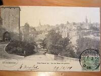 NR. 294 / AK Luxemburg Altes Trierer Tor von der Rham aus gesehen gelaufen 1904