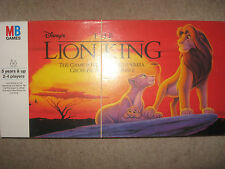 WALT DISNEY'S THE LION KING BOARD GAME MB GAMES HASBRO 1994 SIMBA CUB TO KING