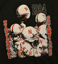 Nebraska Cornhuskers 1994 NCAA Division I-A Champions T-shirt Adult XL Black