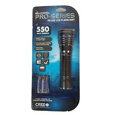 Bell Howell Pro-Series PS-550 LED Flashlight 550 Max Lumens Cree with batteries