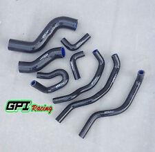 black Silicone radiator hose for Hilux KUN26R SR & SR5 3.0Ltr Turbo Diesel 05-15