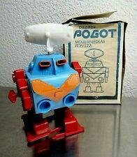 Vintage USSR Wind Up Robot Soviet Toy Rare!!!