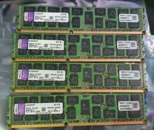 KINGSTON 32GB KIT PC3-12800R 1600MHz CL11 ECC REGISTERED SERVER MEMORY/RAM