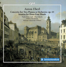 Concerto For Two Pianos & Orchestra 45 - Eberl / Giacometti / Fuk (2018, CD NEU)