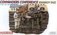 Dragon 1/35 6144 WWII German Commanders Conference (Kharkov 1943) (4 Figures)
