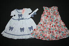 2x Kleid von Baby C by Chambo + Mexx, 6-9 Mon (Gr. 68 74), neu