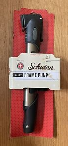 NEW Schwinn Mini Frame Pump SW75345 Inflates Schrader & Presta Valve
