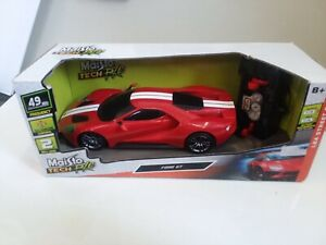 Maisto Tech R/C Red Ford GT 1:24 Street Series 49MHz Frequency New In Box
