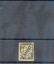 TAHITI Sc J9(YT T9)VF USED, 1893 30c BLACK, POST DUE, SIGNED, $975