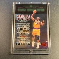 SHAQUILLE O'NEAL SHAQ 1999 UPPER DECK #NS13 NOW SHOWING FOIL INSERT NBA LAKERS