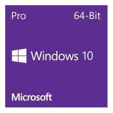 Microsoft Windows Pro 10 64bit Eng Intl 1 Pack DSP DVD