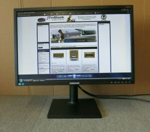 "Samsung S22E450BW LS22E45KDWV/EN 22"" LCD TFT LED HD Widescreen Monitor DVI VGA"