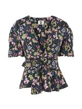 Topshop Unique Aster Blouse UK Size 12 Td091 Mm 12